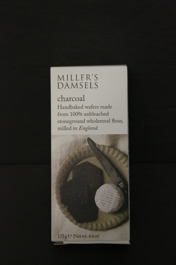 MILLERS DAMSELS CHARCOAL BISCUITS