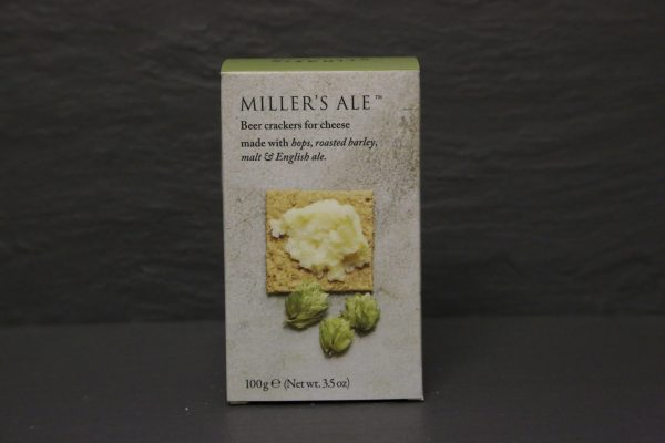 MILLERS ALES BEER CRACKERS FOR CHEESE
