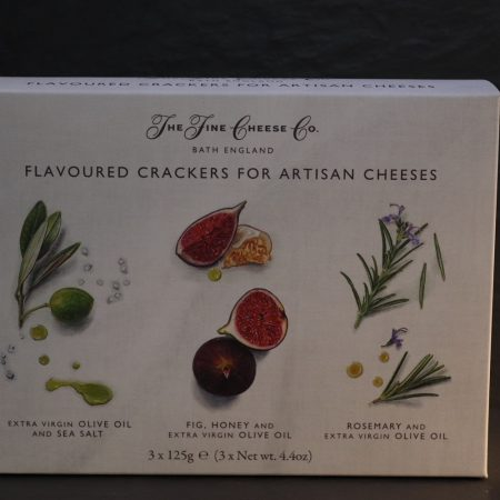 Flavoured Crackers for Artisan Cheeses